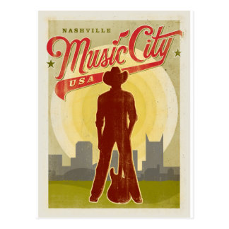 Ahorre la fecha el | Nashville, TN - ciudad los Tarjetas Postales