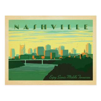 Ahorre la fecha el | Nashville, TN - horizonte Tarjeta Postal
