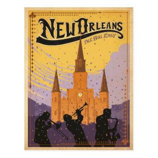 Ahorre la fecha el | New Orleans, LA Tarjeta Postal