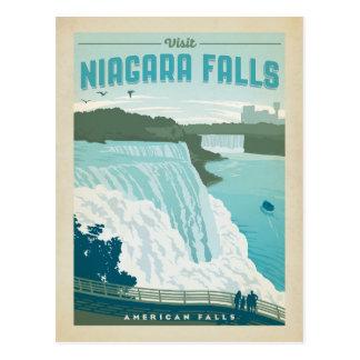 Ahorre la fecha el | Niagara Falls, NY Tarjeta Postal