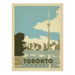 Ahorre la fecha el   Toronto, Ontario 2 Tarjetas Postales