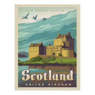 Ahorre la fecha - Escocia Tarjeta Postal