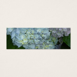Ahorre la fecha - invitación del Hydrangea