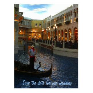 Ahorre la fecha Las Vegas que casa planes Tarjeta Postal