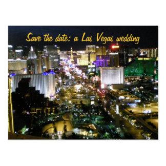 Ahorre la fecha Las Vegas que casa planes Postal
