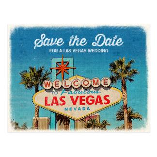 Ahorre la fecha para casarse fabuloso de Las Vegas Postales
