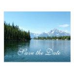 Ahorre la fecha, parque nacional magnífico de tarjetas postales
