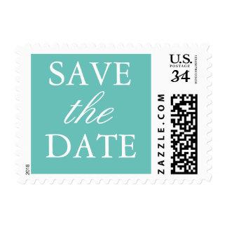 Ahorre la fecha sello postal
