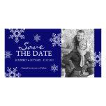 Ahorre la fecha - tarjetas de la foto del boda del tarjetas con fotos personalizadas
