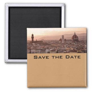 Ahorre la fecha Toscana Imán De Nevera