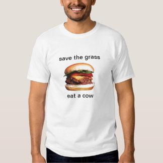 Ahorre la hierba camisas