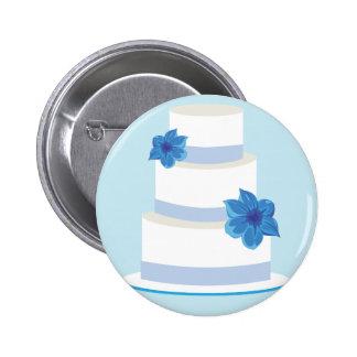 Ahorre la impresión de la fecha o del pastel de pin redondo de 2 pulgadas