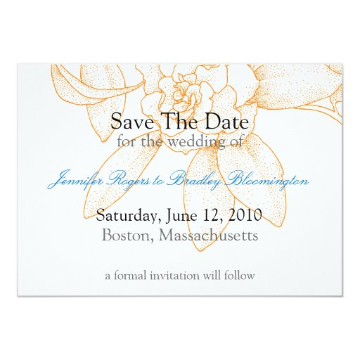 Ahorre la invitación de la invitación del boda de