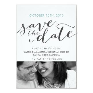 Ahorre la invitación del boda de la fecha