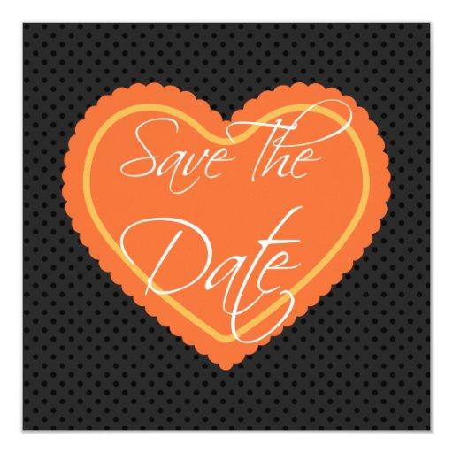 Ahorre la invitación del compromiso del boda de la