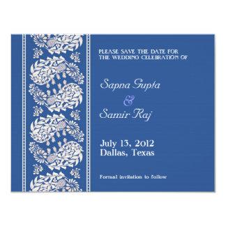 Ahorre la invitación india/judía de la fecha