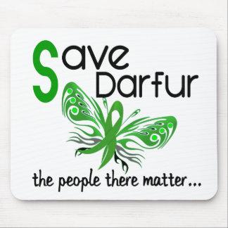 Ahorre la mariposa 3,2 de Darfur Alfombrillas De Raton