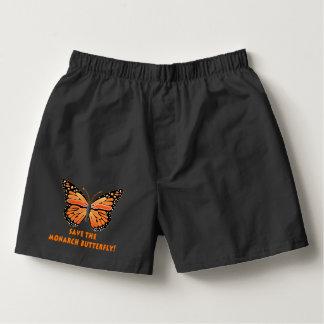 Ahorre la mariposa de monarca calzoncillos