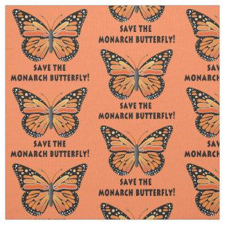 Ahorre la mariposa de monarca telas