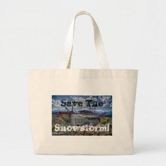¡Ahorre la nevada! Bolsas De Mano