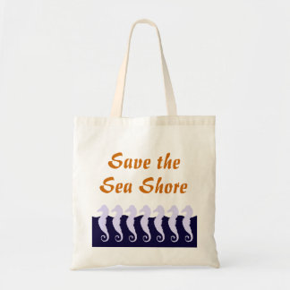 Ahorre la orilla de mar bolsa