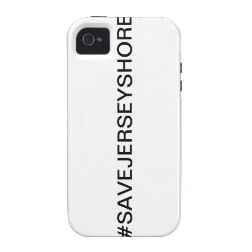 Ahorre la orilla del jersey Case-Mate iPhone 4 funda