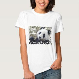 Ahorre la panda gigante playeras