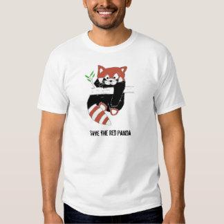 Ahorre la panda roja aka FireFox Camisas