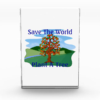 Ahorre la planta del mundo un árbol
