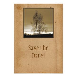 Ahorre la reunión de familia de la fecha invitación personalizada