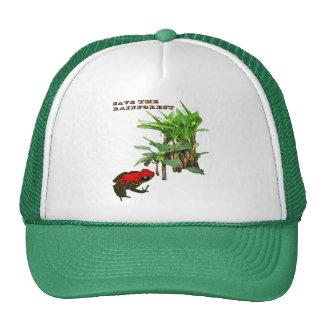 Ahorre la selva tropical gorra