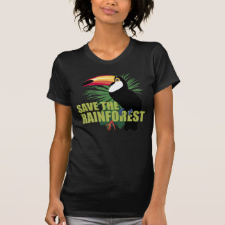 Ahorre la selva tropical camiseta