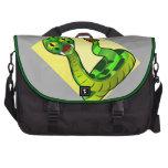 Ahorre la serpiente del traqueteo de la fauna bolsas de portatil