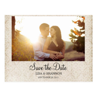 Ahorre la tarjeta de fecha tarjetas postales