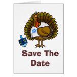 Ahorre la tarjeta de felicitación de Thanksgivukka