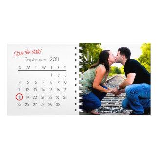 Ahorre la tarjeta de la foto de la fecha (septiemb tarjetas personales con fotos