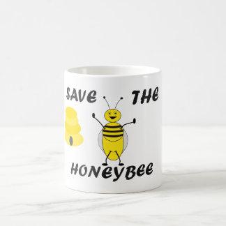 Ahorre la taza de la abeja