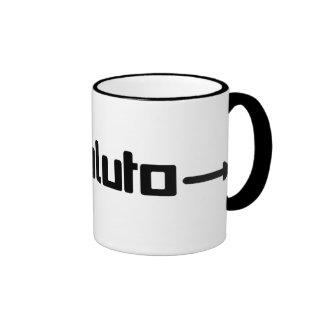 Ahorre la taza de Plutón