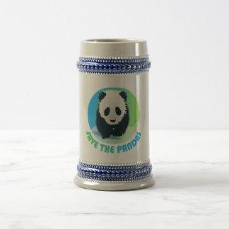 Ahorre la taza de Stein de las pandas