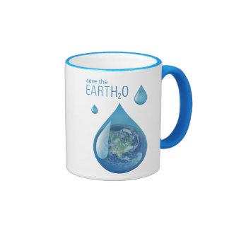 Ahorre la taza del planeta del agua