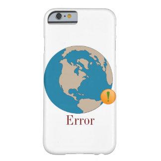Ahorre la tierra funda de iPhone 6 barely there
