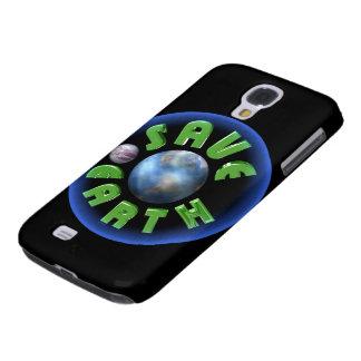 Ahorre la tierra por Valxart.com Samsung Galaxy S4 Cover