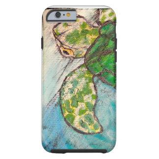 Ahorre la tortuga de mar funda de iPhone 6 tough