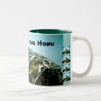 Ahorre la tortuga de mar tazas