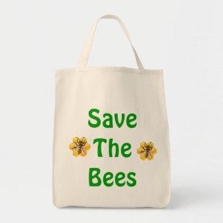 Ahorre las abejas bolsa de mano