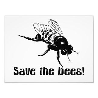Ahorre las abejas cojinete