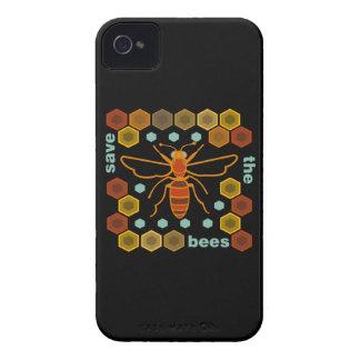 Ahorre las abejas funda para iPhone 4 de Case-Mate