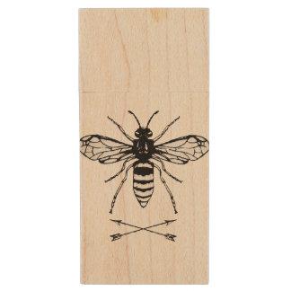Ahorre las abejas pen drive de madera USB 3.0