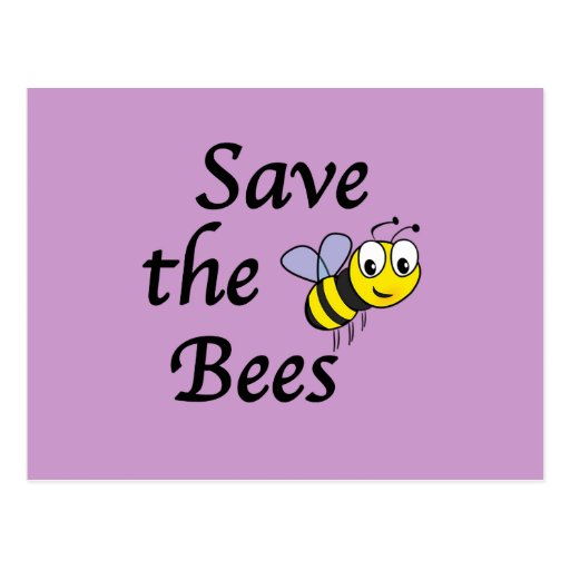 Ahorre las abejas postal
