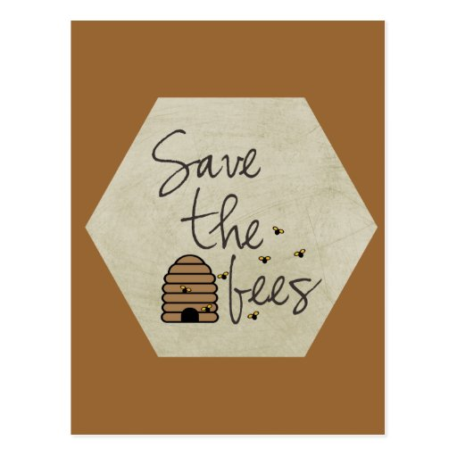 Ahorre las abejas postales